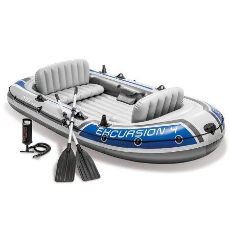 INTEX - nafukovací čln Excursion 4 SET 500kg