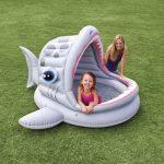 Bazén Intex  Shark , 201 x 198 x 109 cm - dětský