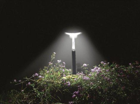 INTEX LED solárna lampa