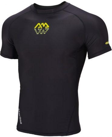 Termoaktívne tričko s krátkym rukávom BLACK , Aqua Marina