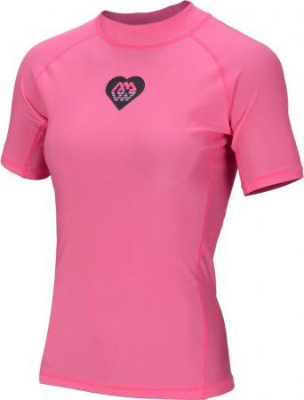Termoaktívne tričko s krátkym rukávom  ALLUV PINK AQUA MARINA