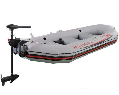 Mariner 4 set, Intex + Lodné elektromotory Intex +Držiak pre motor Intex