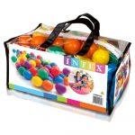 INTEX Fun Ballz Loptičky do bazéna 100ks  6,5cm