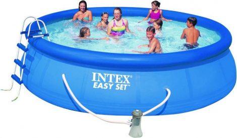 Bazén Intex Easy 457 x 122 cm komplett set !