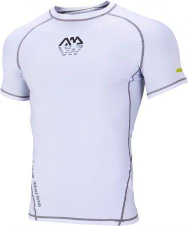 Termoaktívne tričko s krátkym rukávom White , Aqua Marina